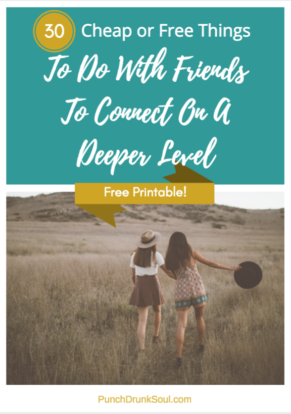cheap and free things to do with friends to bring you closer