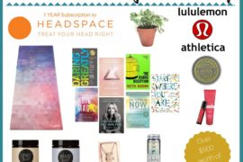 Ultimate High Vibe Giveaway Package, lululemon, headspace, moonjuice, clear quartz, essential oils, yoga mat, big magic, the icarus deception, light is the new black, daring greatly, the universe has your back, The power of now, self help, personal growth, personal development, spiritual growth, soul alignment journey