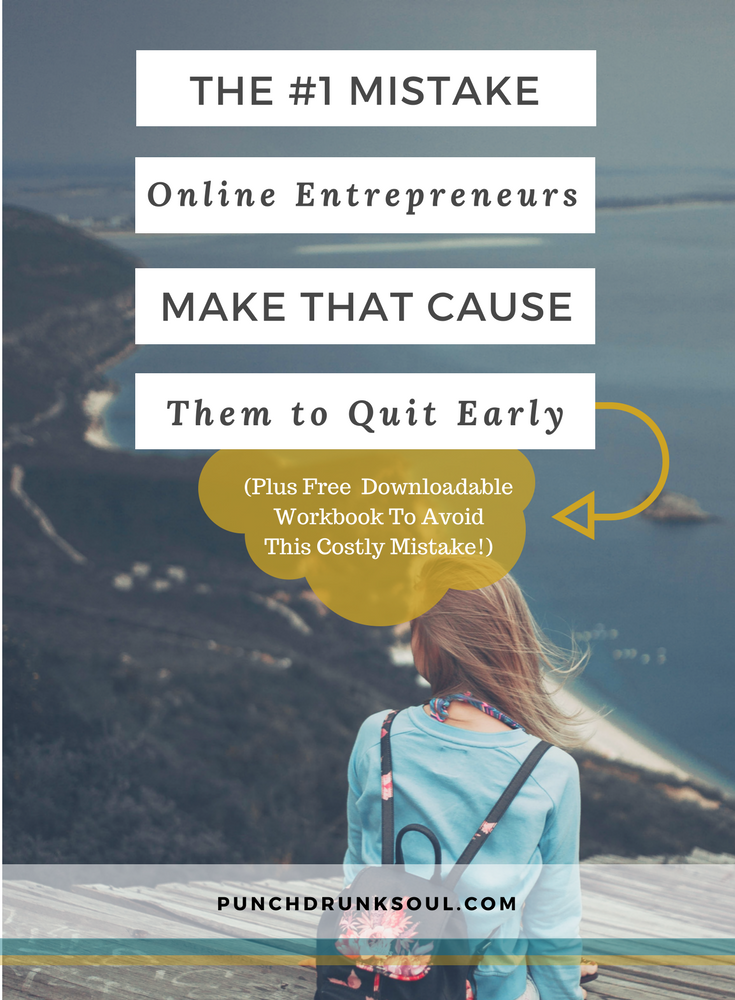 Mistake New Online Entrepreneurs Make, Starting an online business, online biz, online business, how to start an online business, online business ideas, soul aligned online business, soul business