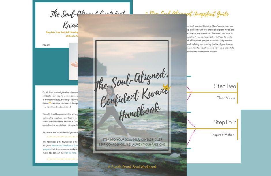 Download My FREE 35pg Soul-Aligned Confident Queen Handbook!